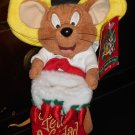 Speedy Gonzalez Plush Christmas Bean Bag Beanbag Feliz Navidad Stocking Looney Tunes 2000