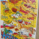 Arizona Grand Canyon State 550 Piece Jigsaw Puzzle GAPF Phoenix Tucson Flagstaff SP 918 Complete