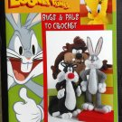 Looney Tunes Bugs & Pals to Crochet Booklet Leaflet Bunny Tweety Sylvester Taz Leisure Arts 3646