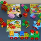 Lego Duplo Lot Baby Primo 5463 Train 5464 Plane Read & Build Sets 6758 6759 6760 All Complete