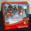 Reindeer Games Figurine Pack 7731 Flying Rudolph the Red-Nosed Forever Fun Clarice Comet Fireball