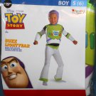 Toy Story Buzz Lightyear Halloween Deluxe Child Costume Outfit Boy Size Small S Disguise NIP