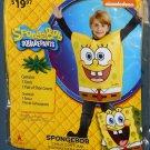 Nickelodeon Spongebob Squarepants Halloween Child Costume Outfit Boy Size Small S Rubie's NIP