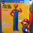 Nintendo Super Mario Halloween Child Costume Outfit Boy Size Small S Disguise NIP