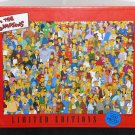 Limited Editions 97188 The Simpsons Characters Montage 1000 Piece Jigsaw Puzzle 2001 NIB Sealed