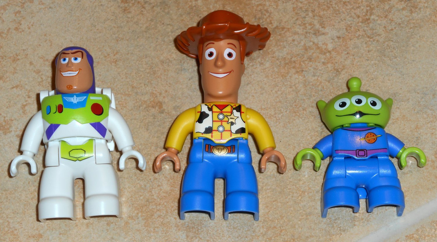 Sold Out Lego Duplo Toy Story Figures Lot Woody Buzz