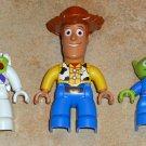 Lego Duplo Toy Story Figures Lot Woody Buzz Lightyear Alien Pixar Disney
