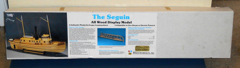 Display model tug boat tugboat kit midwest products unbuilt sealed