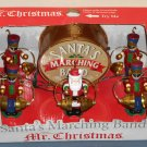 Mr Christmas Santa's Marching Band 23601 Animated Musical Soldiers Claus 10 Brass Bells 15 Songs