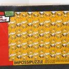 Homer Simpson Impossipuzzle 550 Piece Puzzle Underwear Duff Beer 97289 2003 NIB