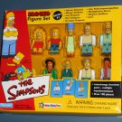 The Simpsons Blocko Figure Set Homer Bart Marge Lisa Apu Mr Burns Smithers Carl Playmates Toys