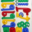 Marbleworks Marble Works Marble Raceway Discovery Toys 60 Pieces Parts