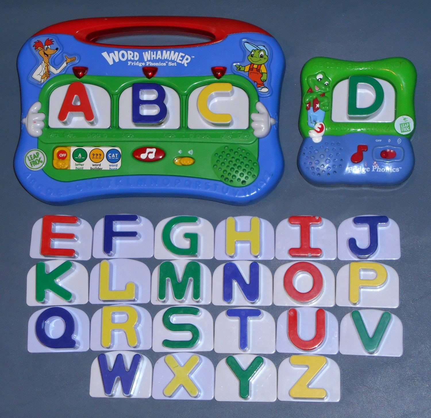 Sold out leap frog leapfrog fridge phonics 26 letter set for Leapfrog three letter words