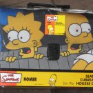 The Simpsons Driving Car Auto Seat Cover Homer Marge Bart Lisa Maggie NIP 2003 PlastiColor