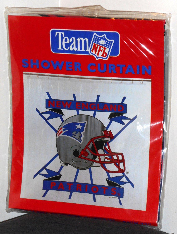 Team Curtains Teamcurtainscom: New England Patriots Vinyl 70 X 72 Shower Curtain NIP Team