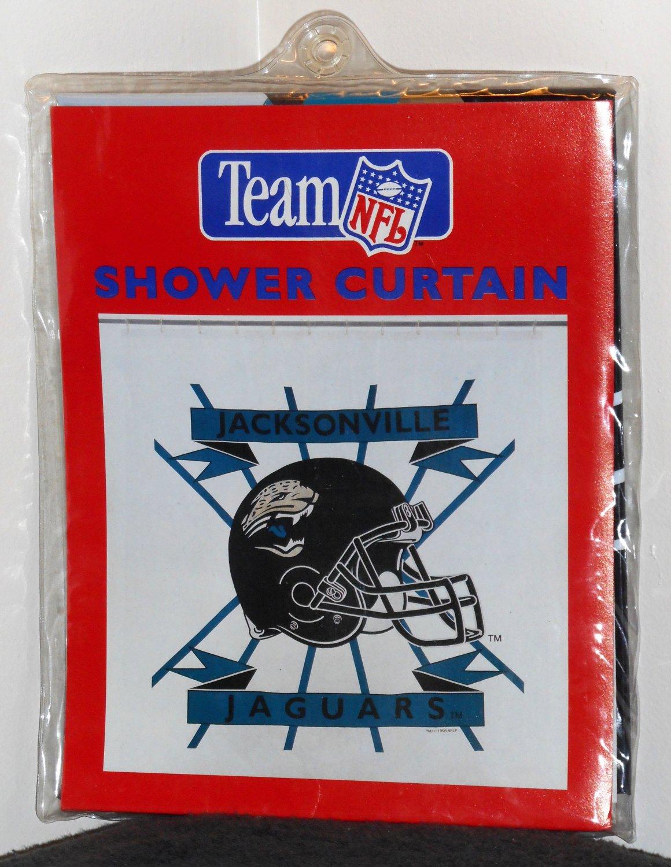 Team Curtains Teamcurtainscom: Jacksonville Jaguars Vinyl 70 X 72 Shower Curtain NIP Team
