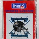 Jacksonville Jaguars Vinyl 70 x 72 Shower Curtain NIP Team NFL Clear Jay Franco 829 Football