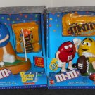 M&M's Candy Dispenser Lot Puttin Blue Golf Puntin Pals Football 54766 11609 Yellow Red Plain Peanut