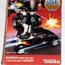 Go Bots GoBots Super Couper Guardian Robot Hot Rod 035 Tonka 1985 Mighty Vehicles 7251 Box Insert