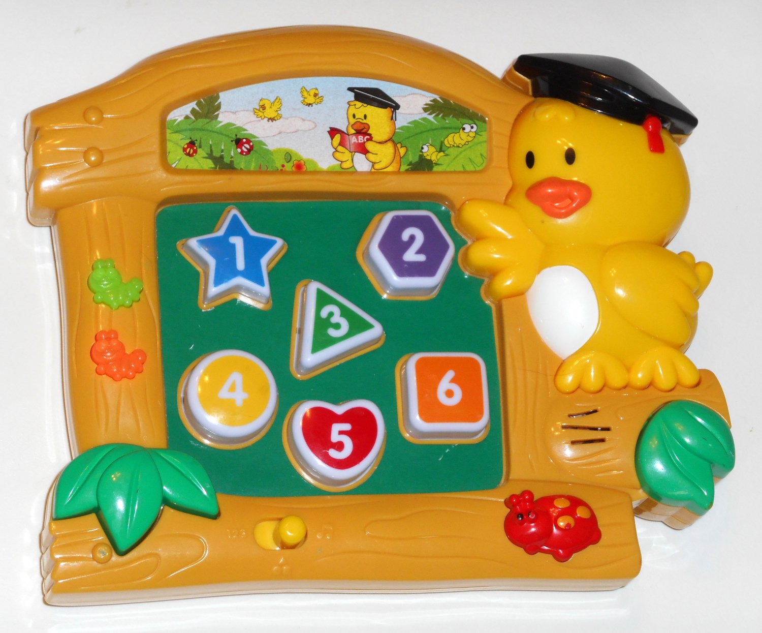 Electronic Learning Toys : Megcos numbers shapes colors musical electronic