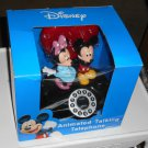 Mickey Minnie Mouse Animated Talking Desk Phone Telephone Light Up Valentine Heart Walt Disney NIB