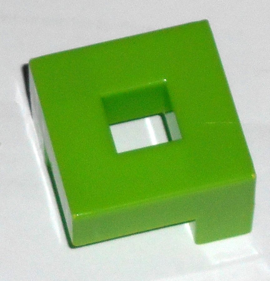 #5G Vintage 1975 Superfection Game Green Replacement Shape Part Block Piece Lakeside 8375