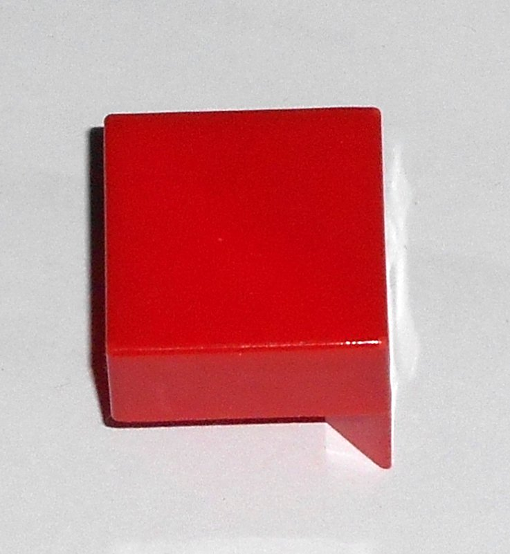 #14R Vintage 1975 Superfection Game Red Replacement Shape Part Block Piece Lakeside 8375