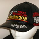 Dale Earnhardt Sr Genuine Leather Hat Cap 7 Time NASCAR Winston Cup Champion One Size Fits All