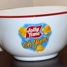 Jolly Time Popcorn Metal Serving Bowl Oh Yum Coated 11 Inch Diameter