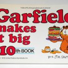 Garfield Makes It Big His Tenth 10th Book Cat Paperback Soft Cover Odie PAWS Jim Davis