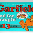Garfield Food For Thought Thirteenth 13th Book Cat Paperback Soft Cover Odie PAWS Jim Davis
