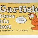 Garfield Loses His Feet Ninth 9th Book Cat Paperback Soft Cover Odie PAWS Jim Davis
