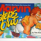 Marvin Steps Out Book Comic Strip Baby Paperback Soft Cover Tom Armstrong