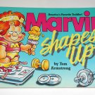 Marvin Shapes Up Book Comic Strip Baby Paperback Soft Cover Tom Armstrong