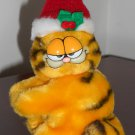 Garfield the Cat 4 Inch Plush Santa Clip-On Ornament Stuffed Animal Toy Dakin Christmas Tree