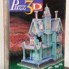Puzz3D Jigsaw Puzzle Victorian House 700 Pieces Extra Challenging Milton Bradley NIB