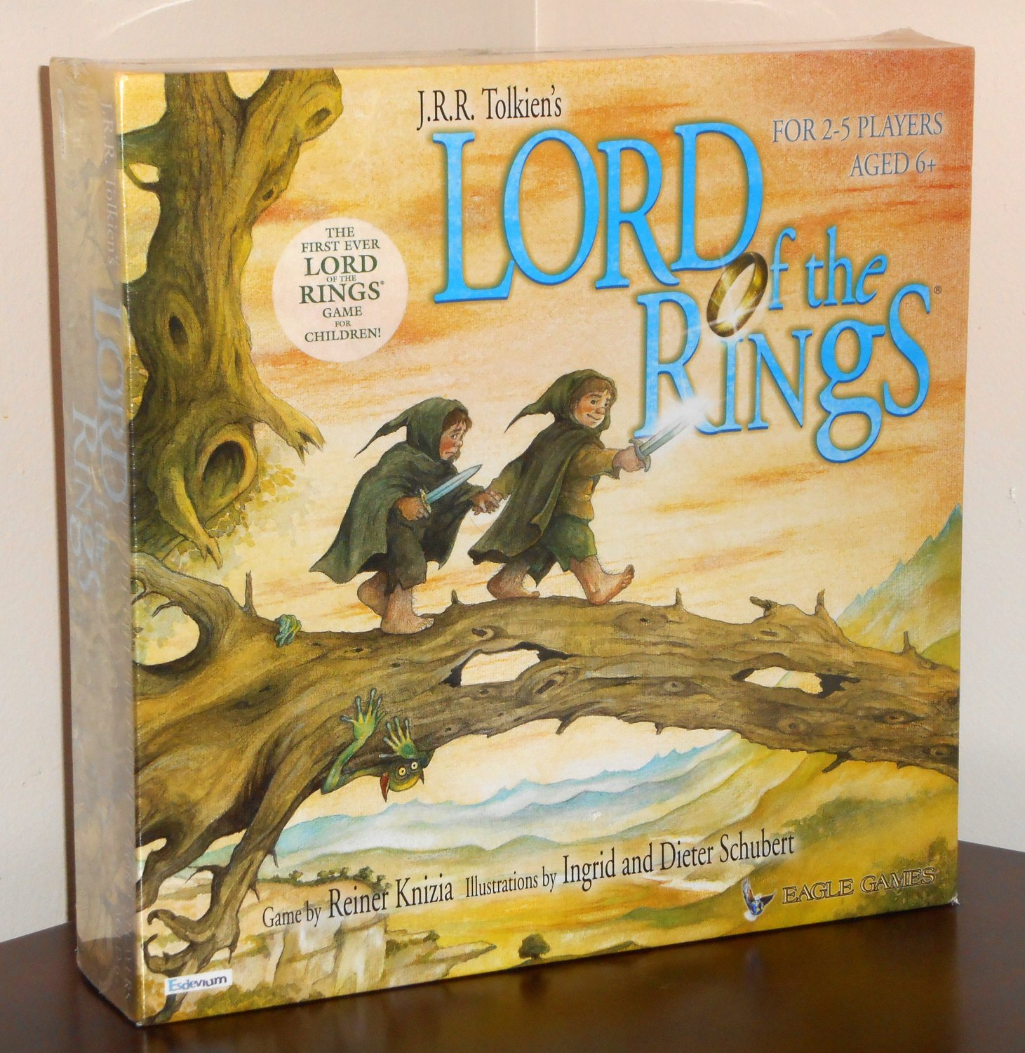 Lord of the Rings LOTR Board Game For Children Eagle Games Made in Germany NIB 2003