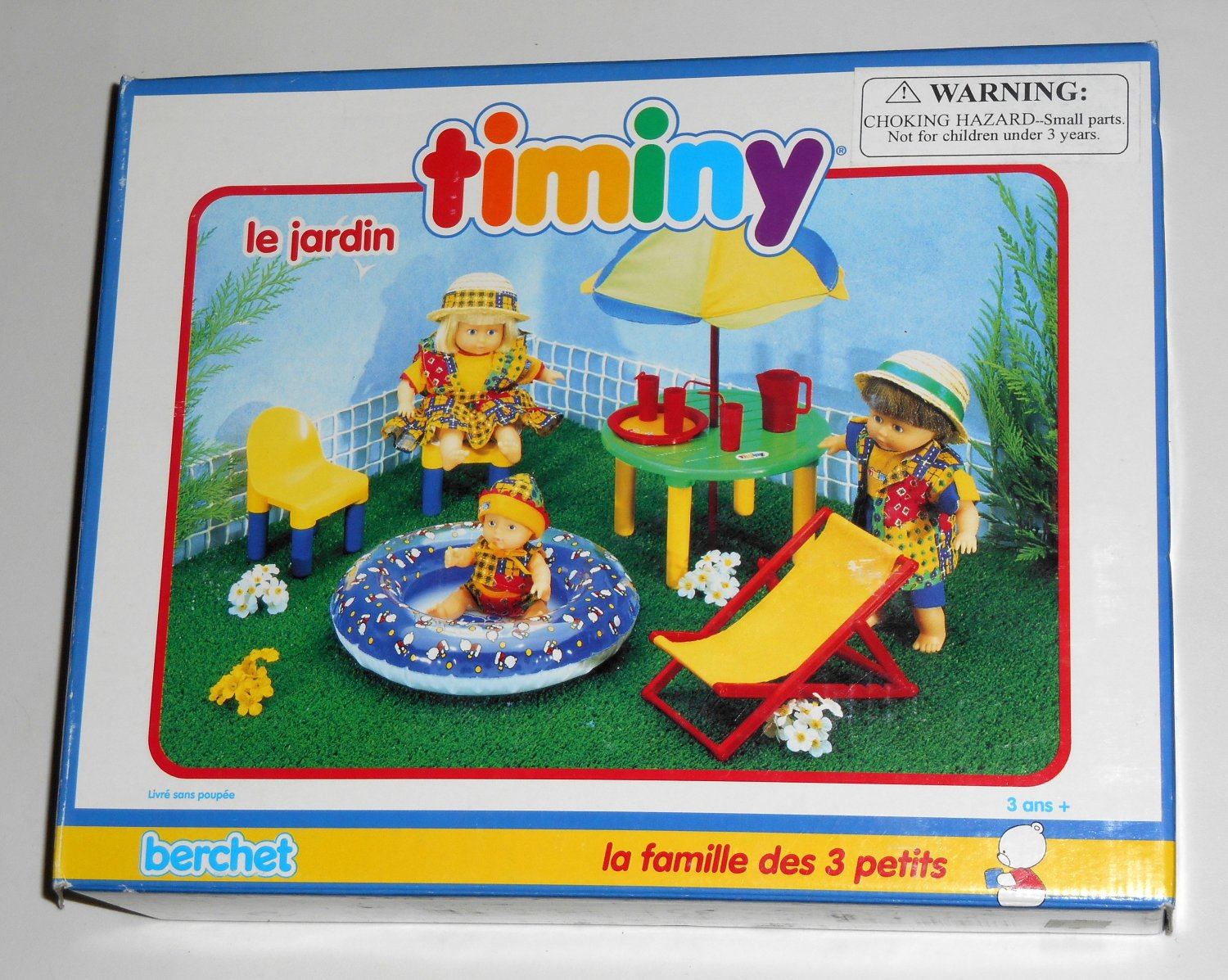 The Garden Timiny Berchet 660005 Doll Furniture Le Jardin The 3 Little Ones Family 1993