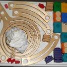 Quadrilla Basic Set 49 Parts Wood Building Playset HaPe Wooden Marble Tower