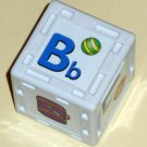 Replacement Block Part B-F-L-P-V-Suitcase Leap's Phonics Railroad 21025 LeapFrog 2002