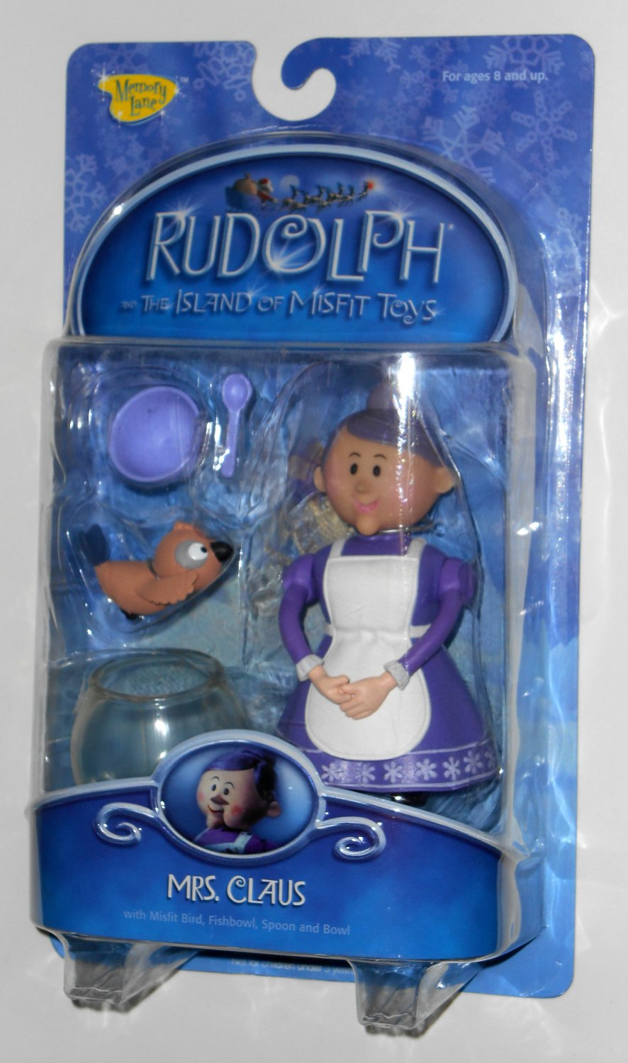 Santa Claus Toys : Mrs santa claus action figure rudolph the island of