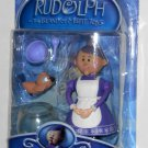 Mrs Santa Claus Action Figure Rudolph & the Island of Misfit Toys Bird Fishbowl Spoon Bowl NIP