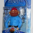 Yukon Cornelius Action Figure Rudolph & the Island of Misfit Toys Snowshoes Hammer Earmuffs NIP
