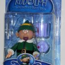 Foreman Elf Boss Action Figure Rudolph & the Island of Misfit Toys Paintbrush Wagon Blueprint NIP