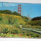 Vintage San Francisco California Golden Gate Bridge 750 Piece Jigsaw Puzzle MB 4848-8 NIB SEALED