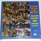 Toys From the Attic 500 Piece Jigsaw Puzzle Baseball Memorabilia SunsOut EC46005 NIB SEALED