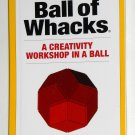 Ball of Whacks Creativity Guidebook Booklet Manual Roger von Oech