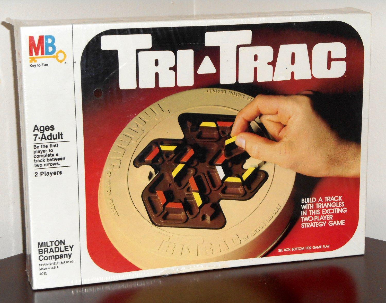 Vintage 1980 Tri-Trac Strategy Tactical Game Milton Bradley 4015 MB NIB Sealed