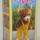 Sammy & Bunny Skates Roller Skating Bear & Rabbit Musical 14 Inch Super Fine Battery Operated 1985