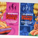 Playboy's Little Annie Fanny Book Lot Volume 1 + 2 Dark Horse Comics Softcover Paperback Hugh Hefner